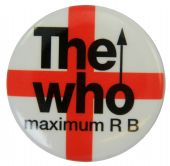 The Who - 'Maximum R B' Button Badge